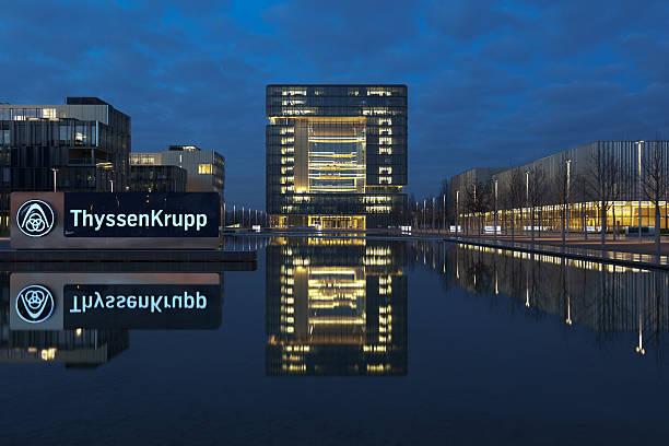 ThyssenKrupp AG Headquarter stock photo