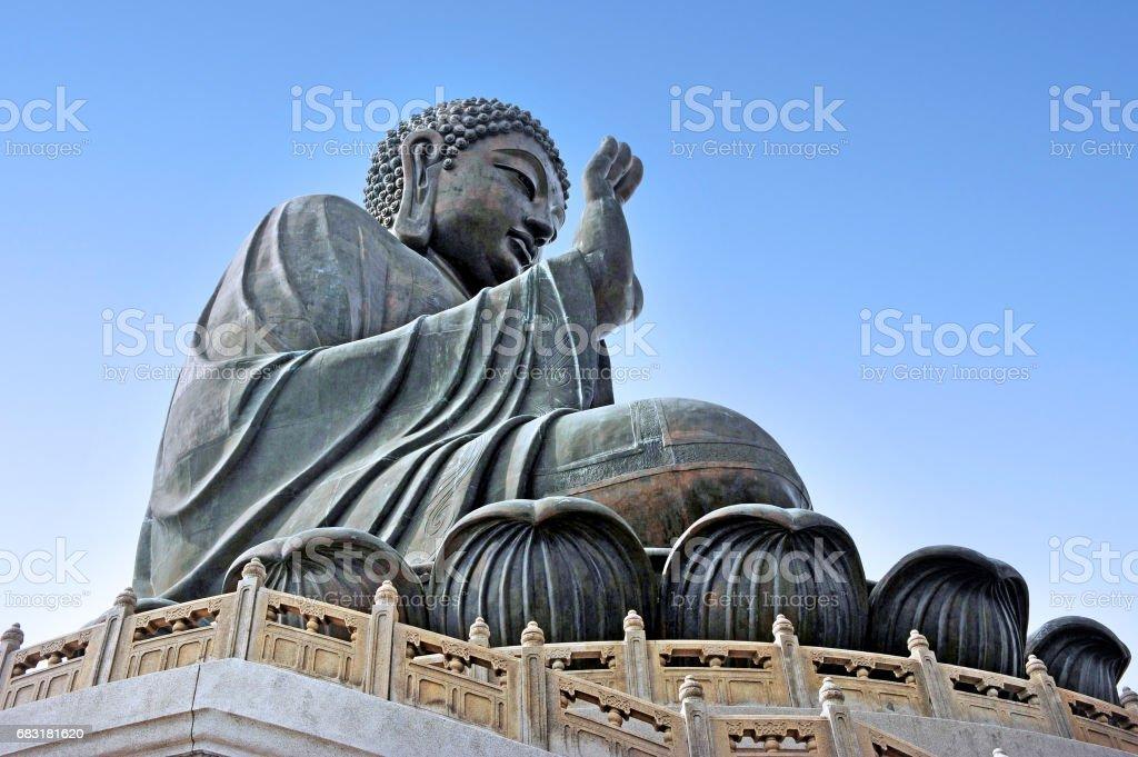 Tian Tan Buddha Hong Kong China 免版稅 stock photo