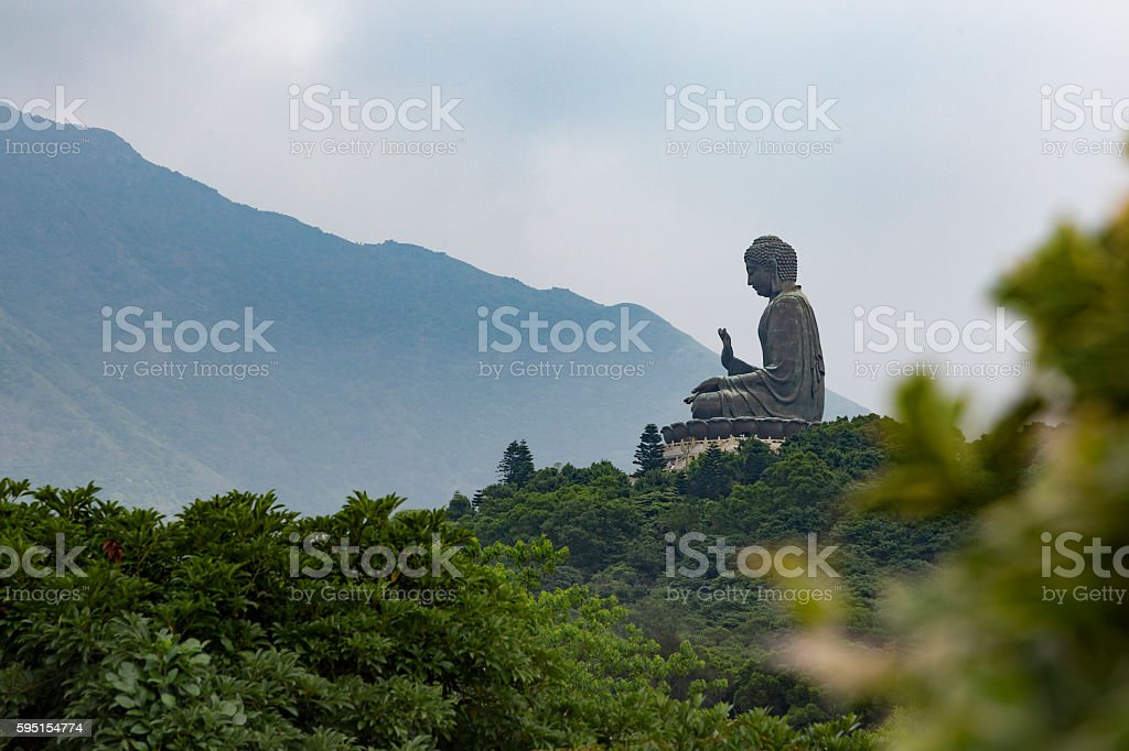 Tian Tan Buddha, Lantau stock photo