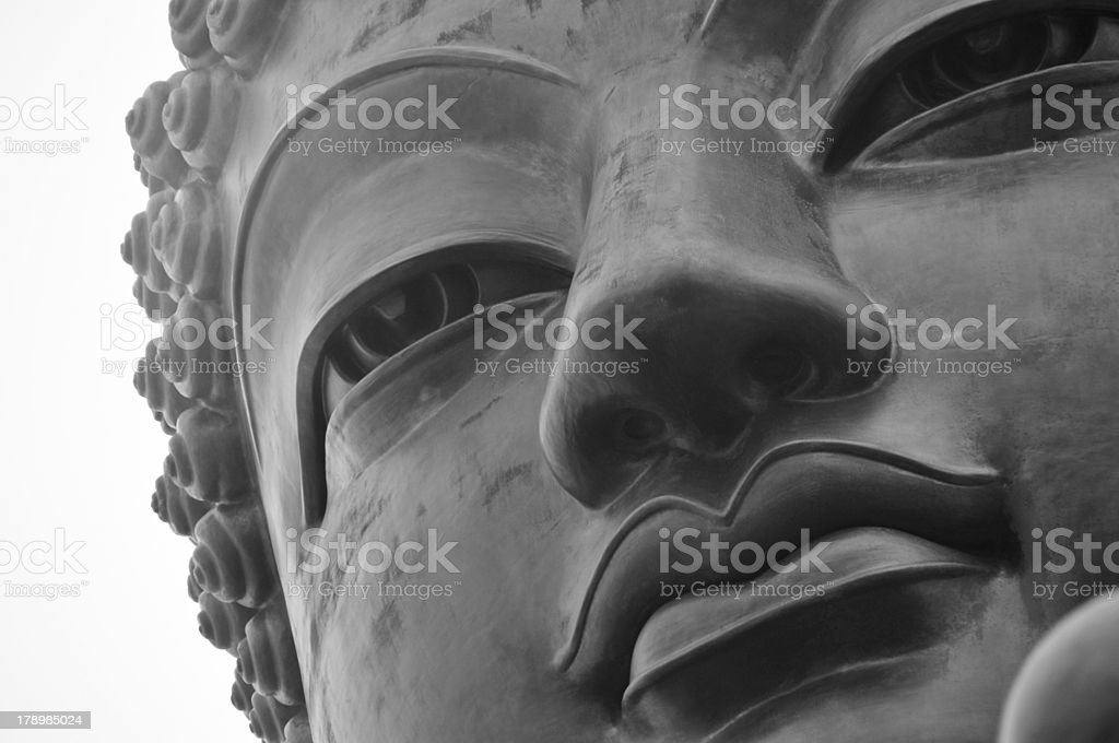 Tian Tan Buddha of Hong Kong royalty-free stock photo