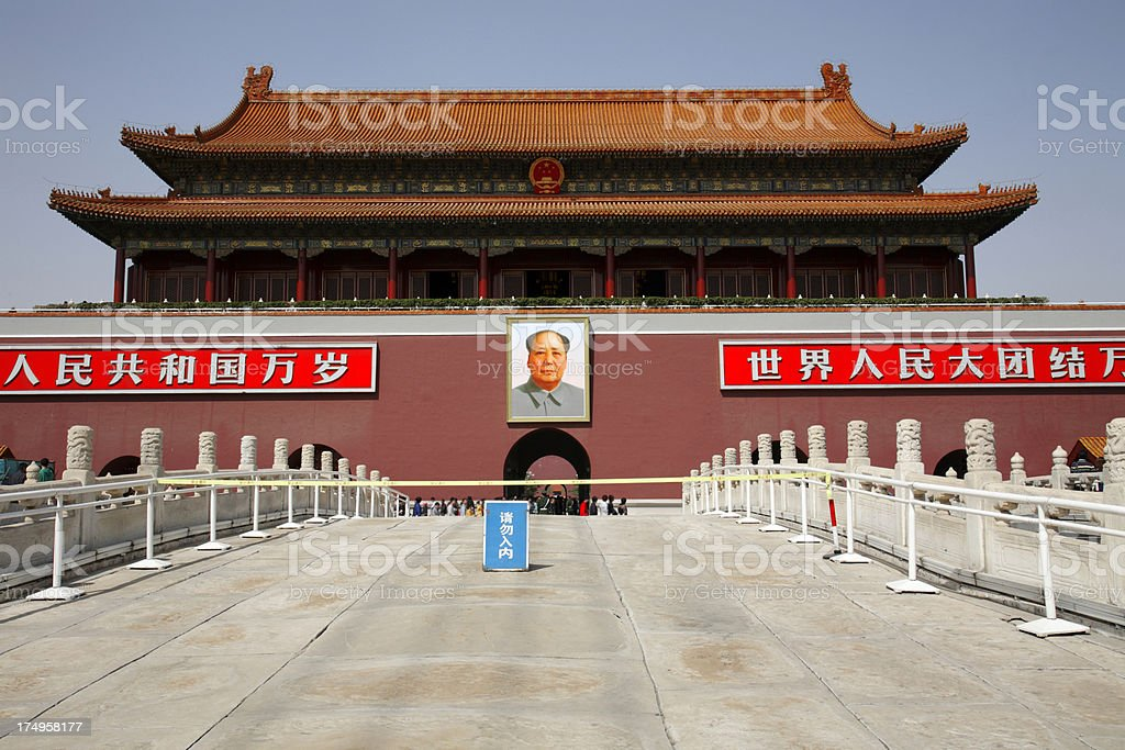 Tiananmen Gate royalty-free stock photo