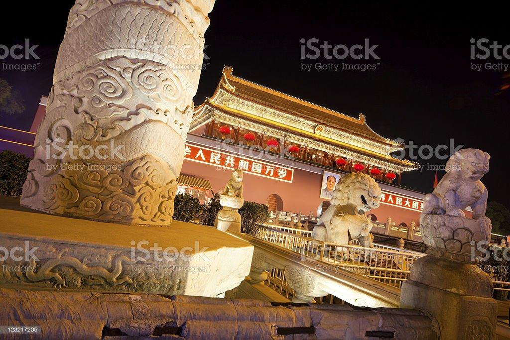 Tiananmen Square royalty-free stock photo