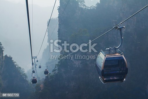 istock Tianmen Mountain 681932720