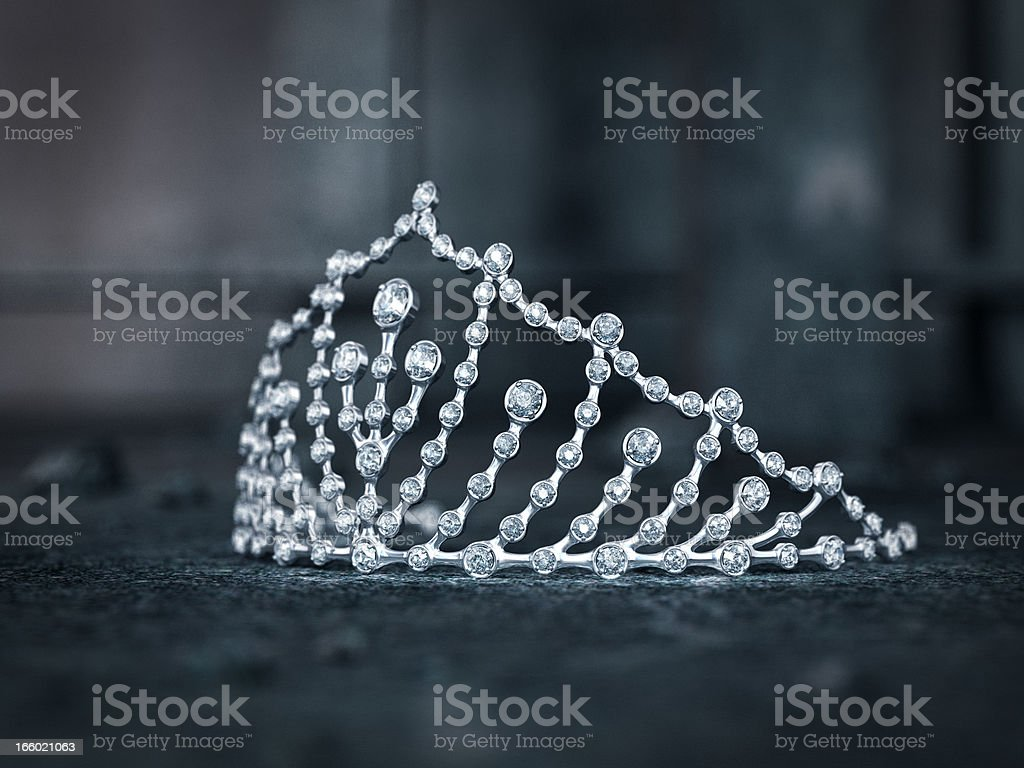 Tiara stock photo
