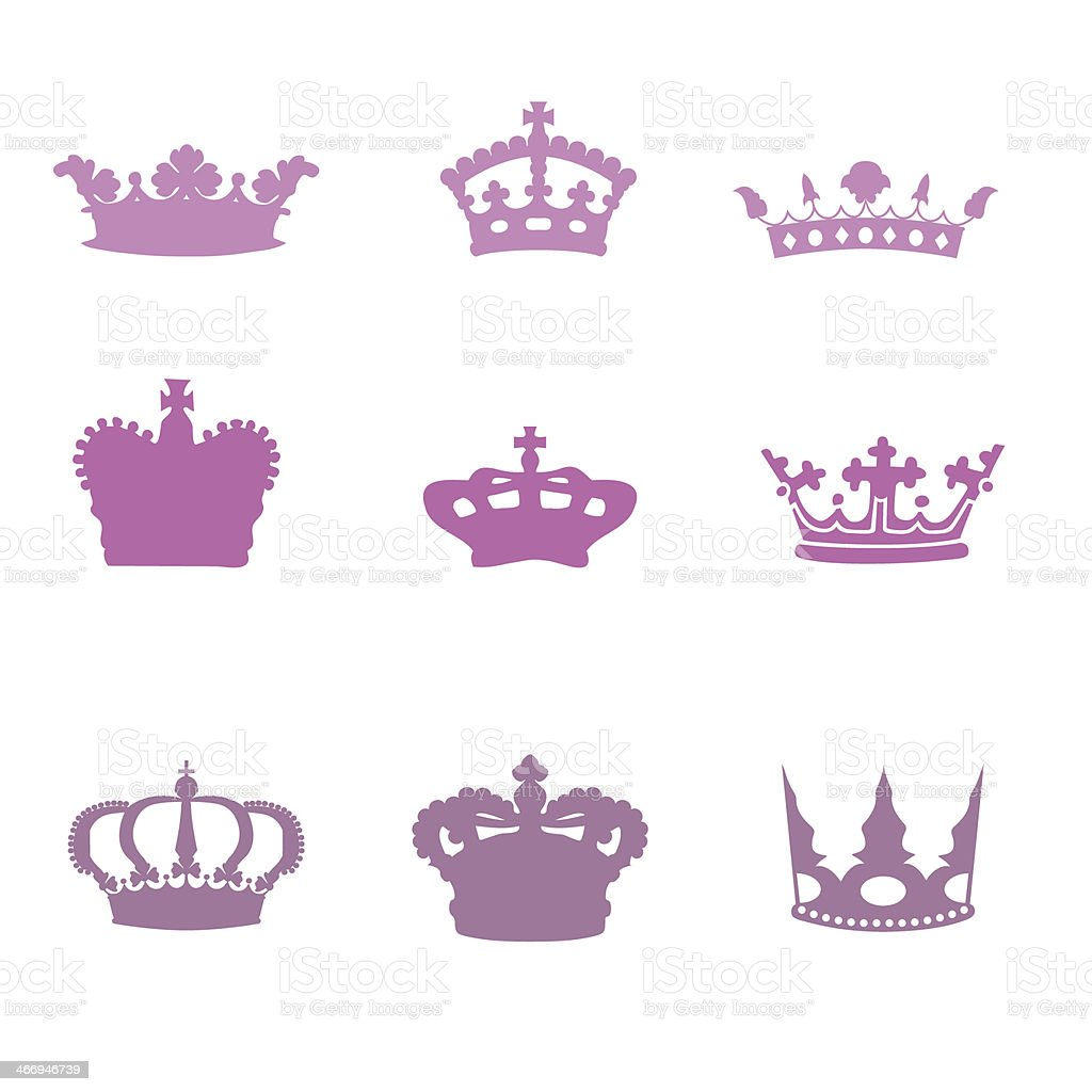 Tiara pink stock photo
