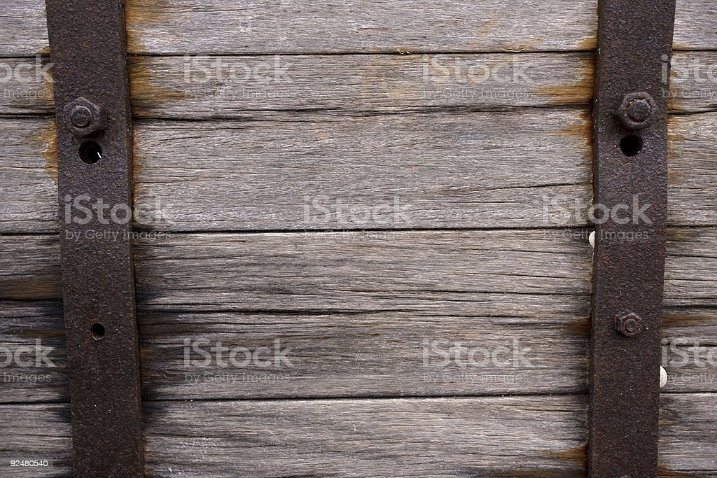 Tiber and steel royalty-free stock photo