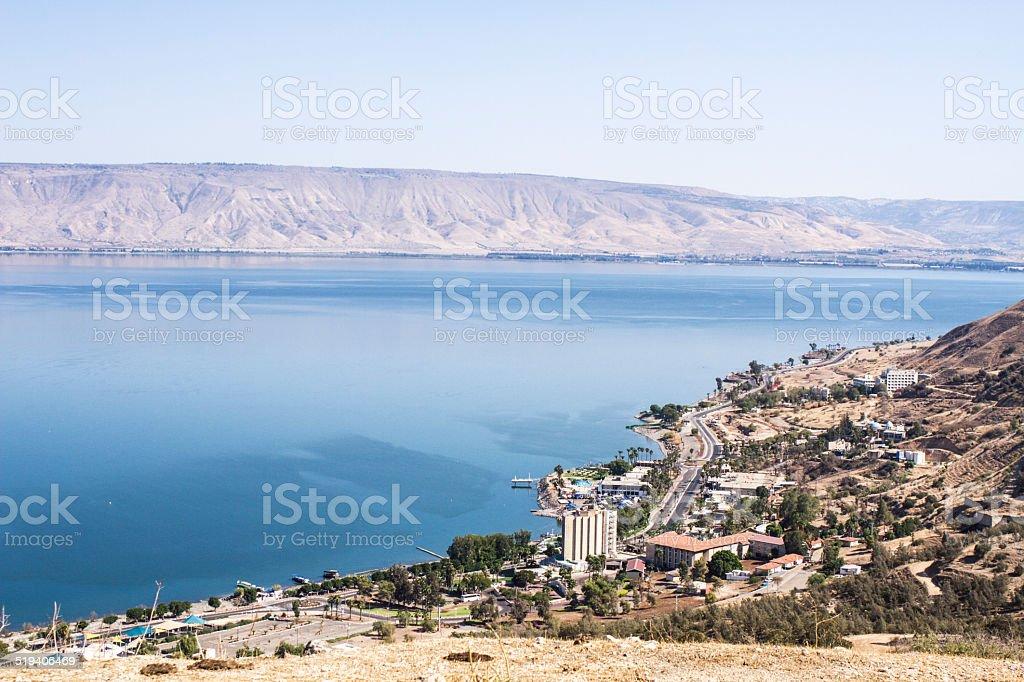 Tiberias stock photo