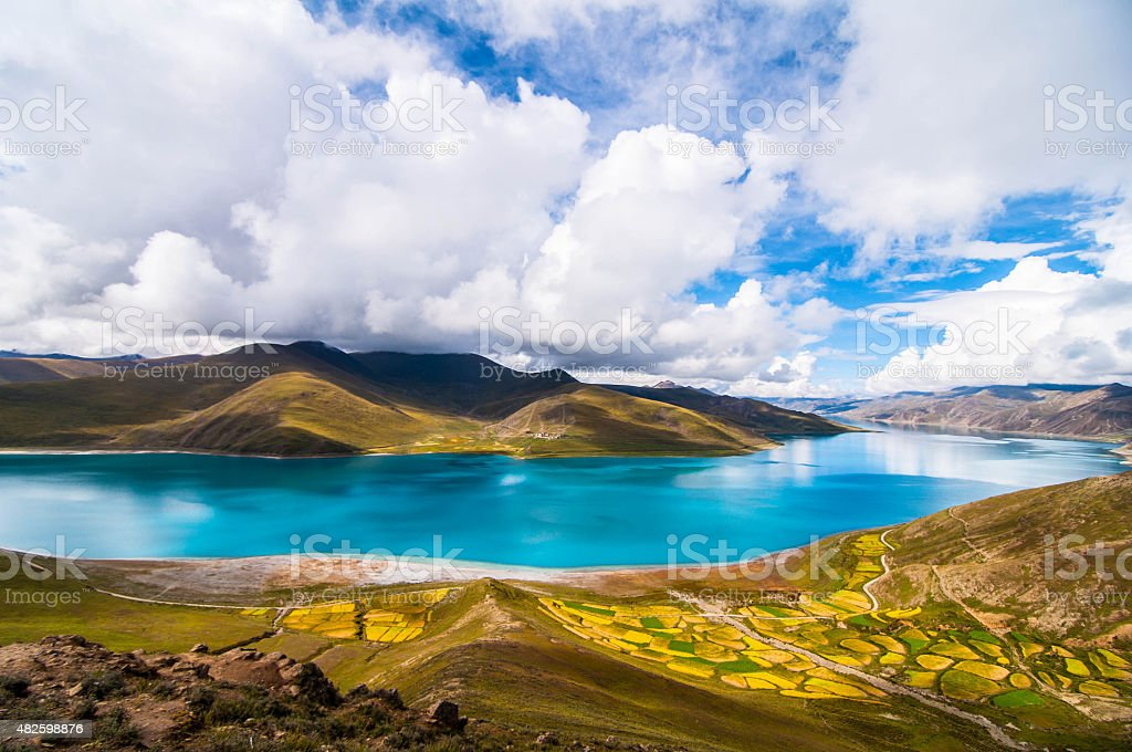 Tibet Expedition stock photo