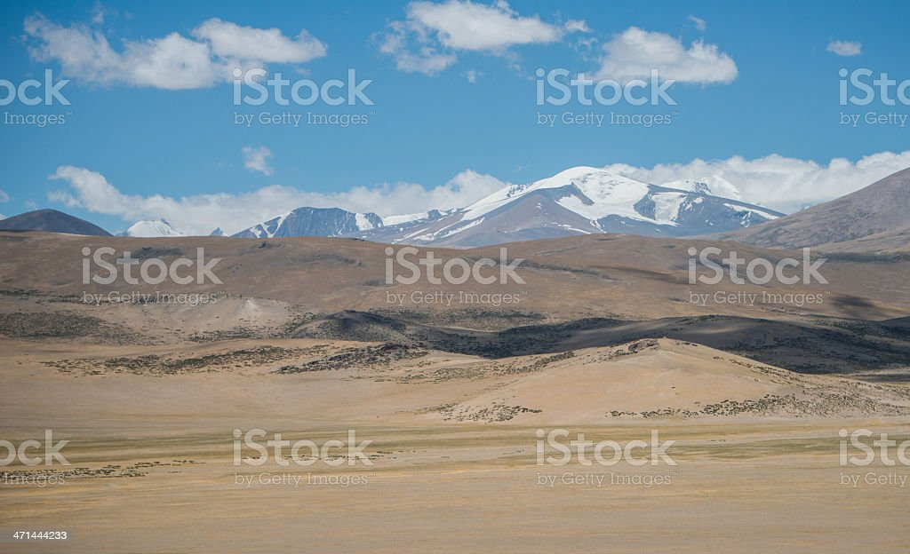 Tibet landscape stock photo