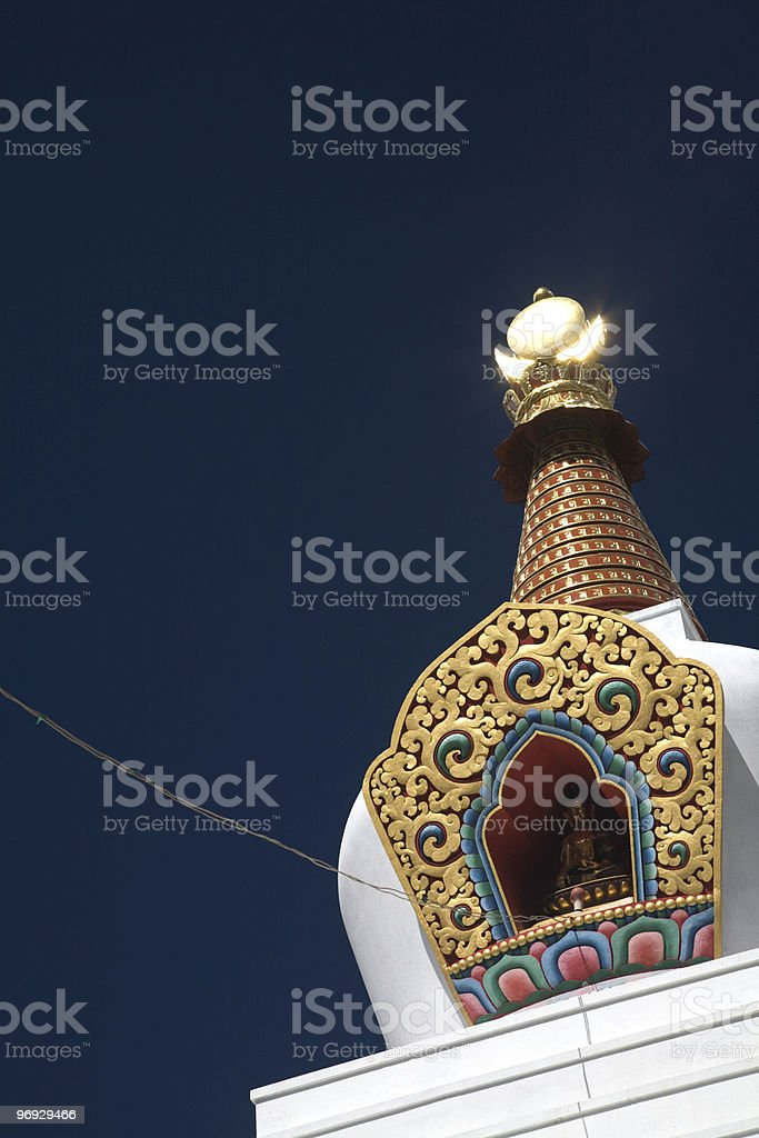 Tibetan Buddha royalty-free stock photo