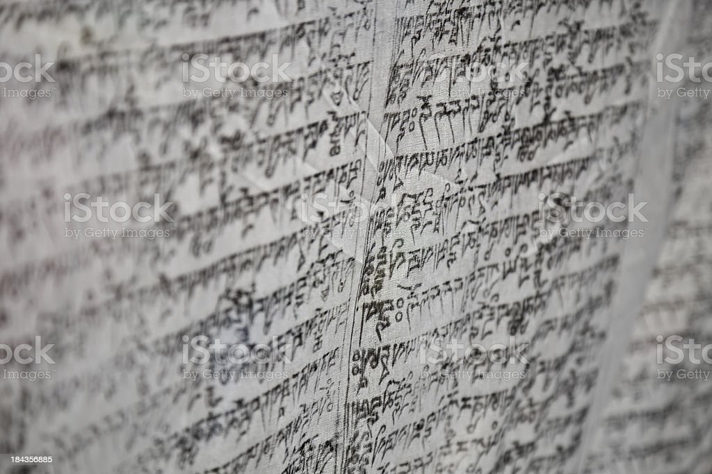 Tibetan Buddhist Prayer Flags Stock Photo - Download Image Now - iStock