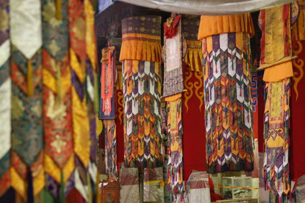 Tibetan Chukor stock photo