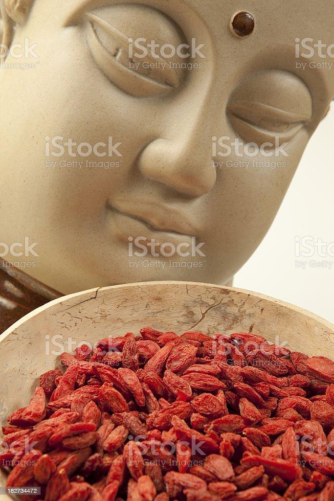 tibetan goji berries royalty-free stock photo