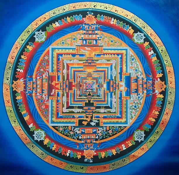 Tibetische Kalachakra Mandala – Foto