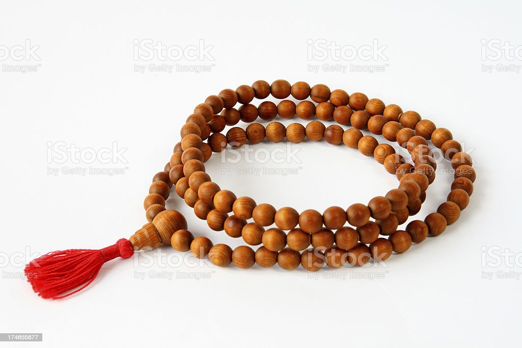 Tibetan Mala royalty-free stock photo