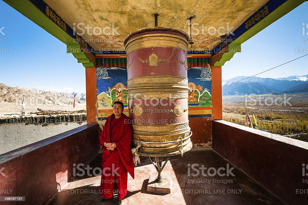 Tibetan Monk royalty-free stock photo