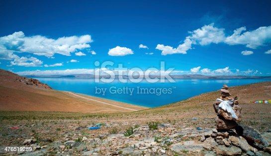 Tibetan plateau lakes