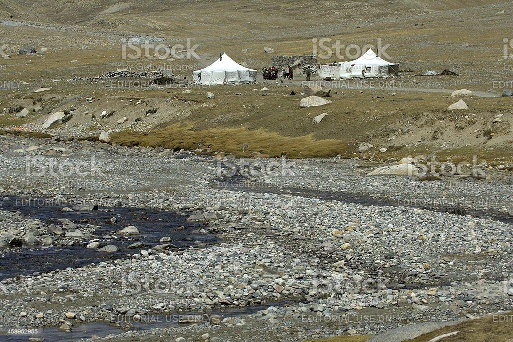 Tibetan Settlememt stock photo