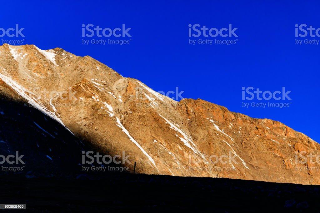 Tibetan Terrain - Royalty-free Asia Stock Photo