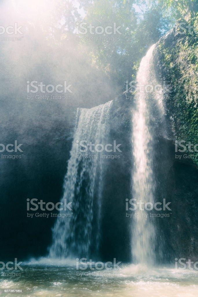 Tibumana waterfall in Bali, Indonesia - Royalty-free Asia Stock Photo