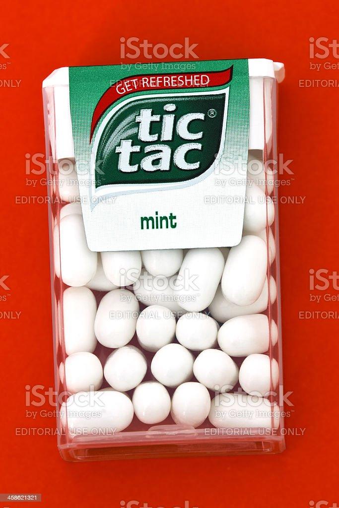 Tic Tac mints stock photo