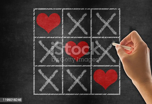 Tic Tac Toe Game for Love