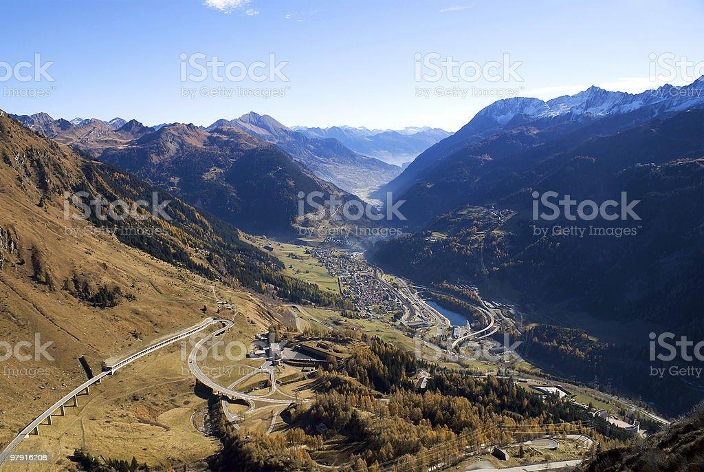 Ticino royalty-free stock photo