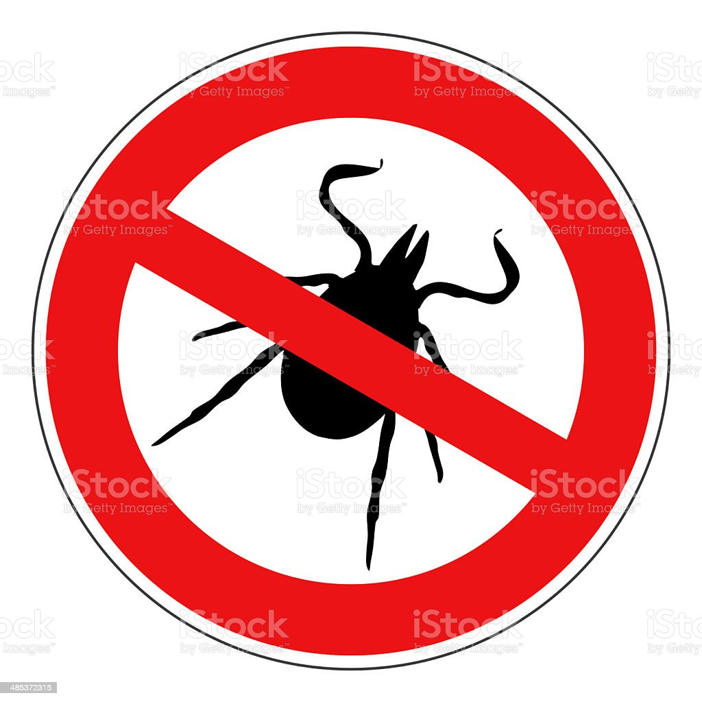 tick sign isolated stock photo
