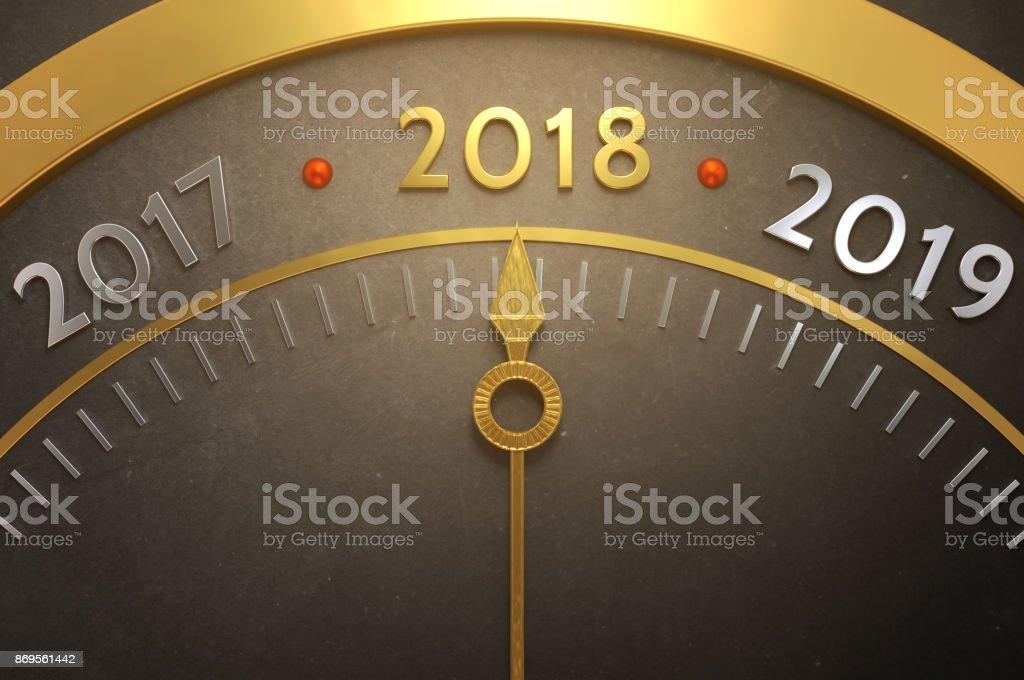 Tick Tack, willkommen 2018! – Foto