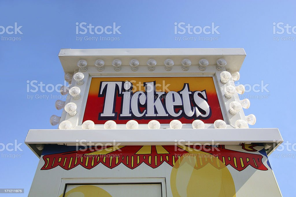 Ticket Booth stock photo