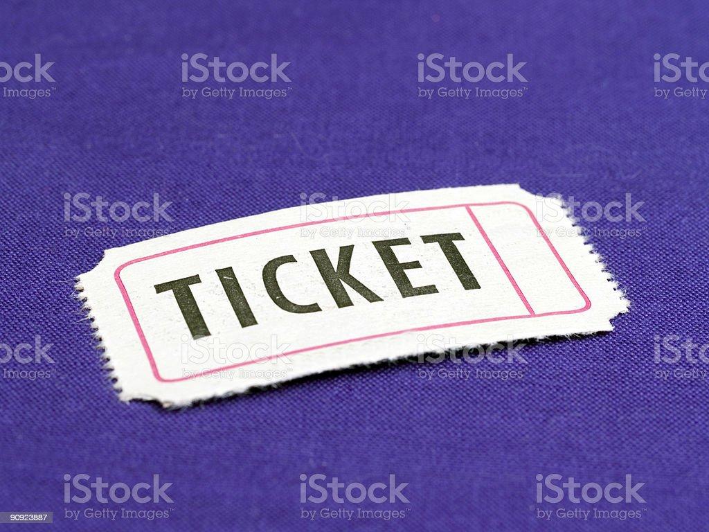 Ticket Coupon royalty-free stock photo