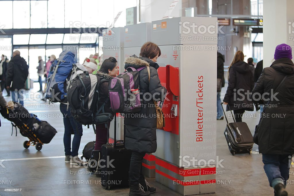 Ticket machines. royalty-free stock photo