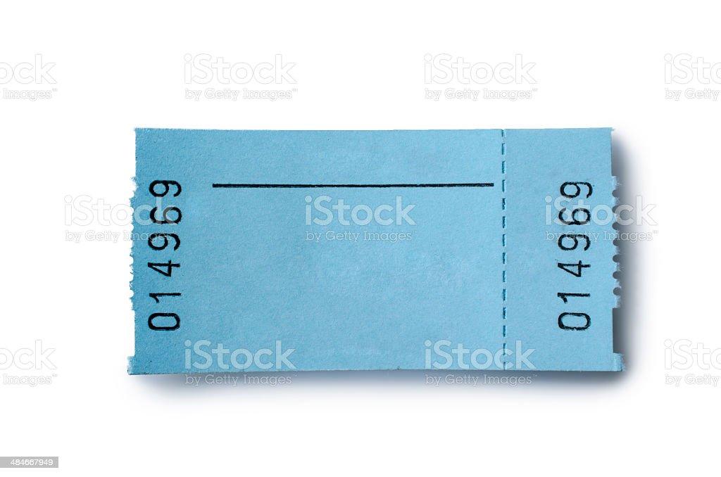 Ticket stock photo