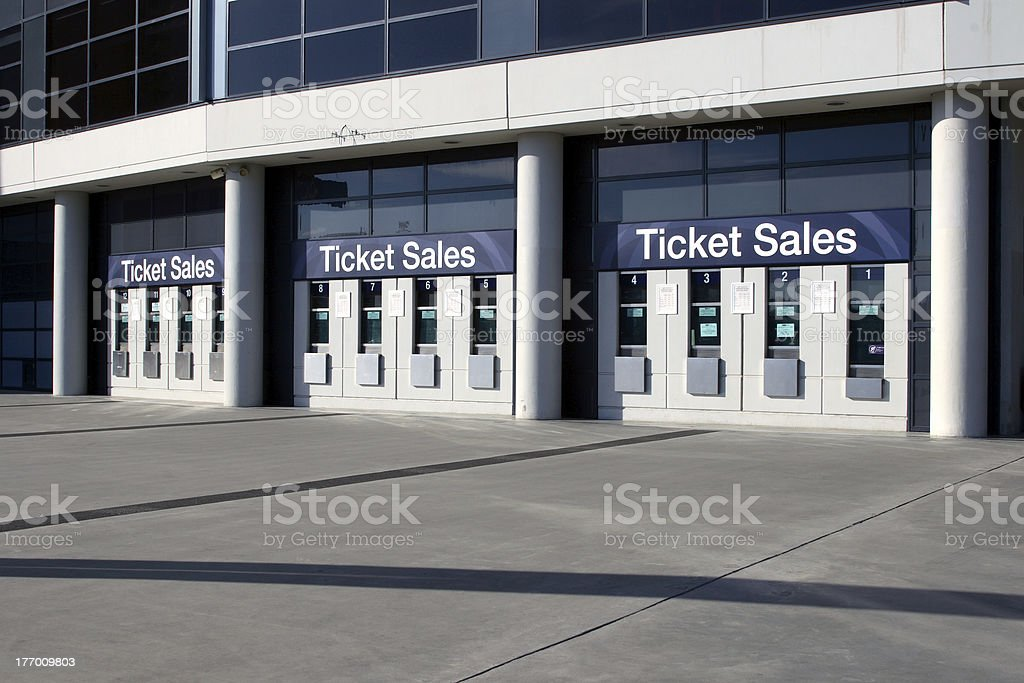 Ticket Sales stock photo