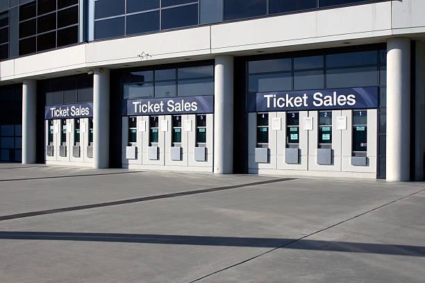 Vendas de ingressos - foto de acervo