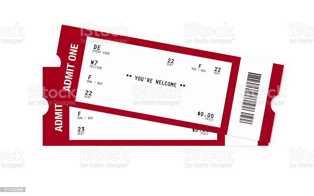 ticket sampler blank event tickets stock photo more pictures of