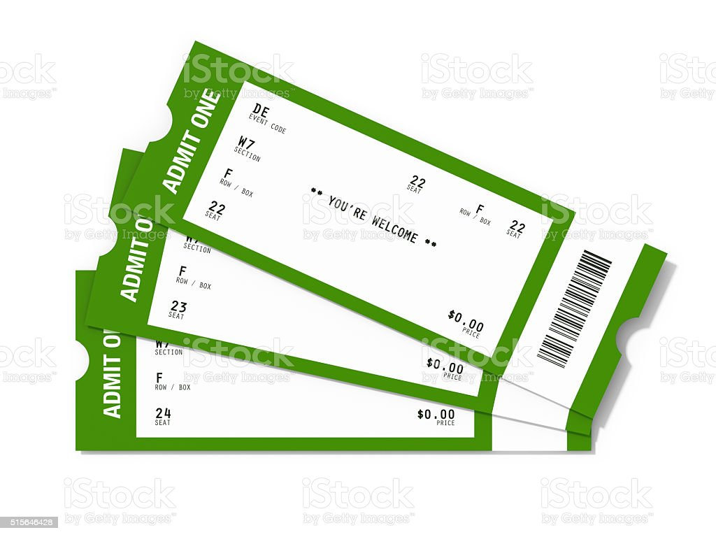 ticket sampler blank event tickets stock photo 515646428 istock