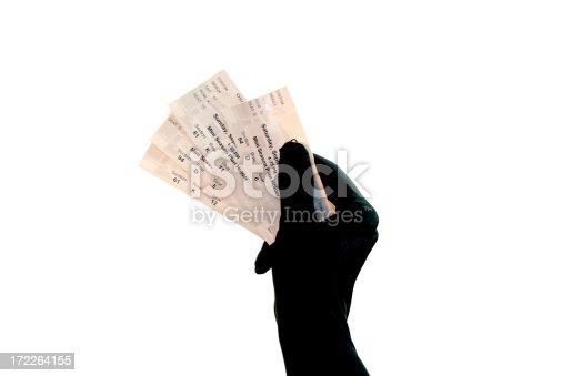 istock Ticket Series  - Formal Glove 172264155