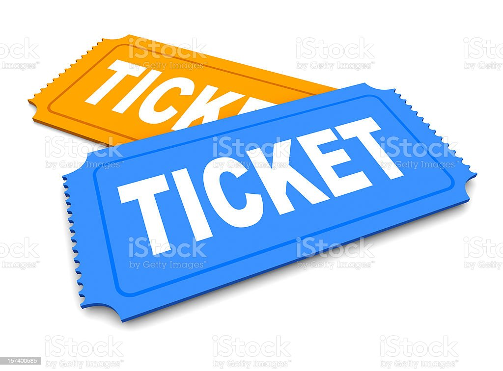 Tickets royalty-free stock photo