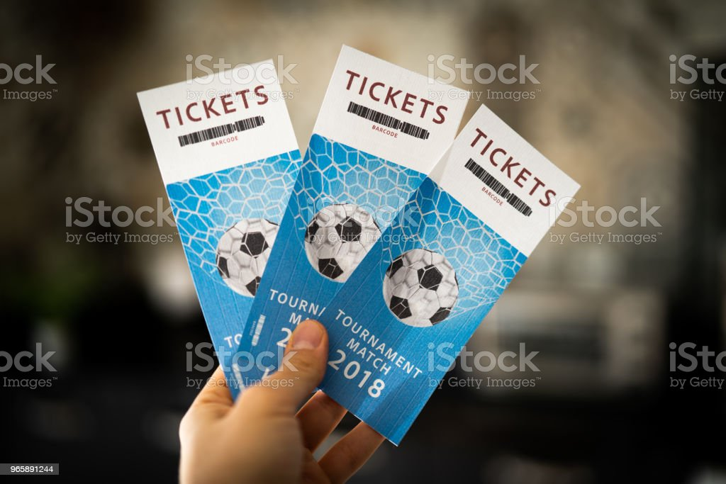 Tickets Tournament Match 2018 - Royalty-free 2018 Stock Photo