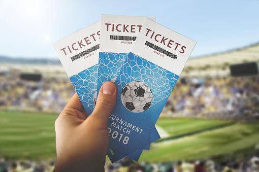 Tickets Toernooi Match 2018 Stockfoto en meer beelden van 2018