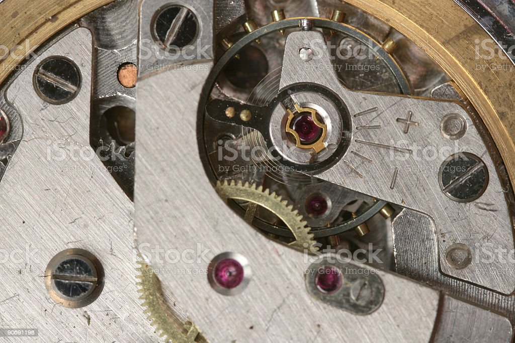 Ticking time royalty-free stock photo
