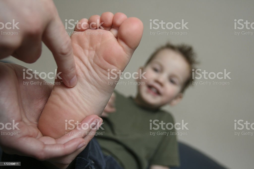 Tickle Time! stock photo