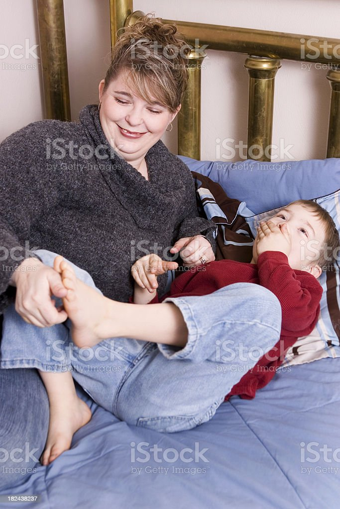 Ticklish Feet stock photo