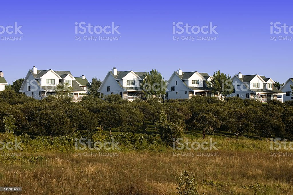 Ticky Tacky Houses royalty-free stock photo