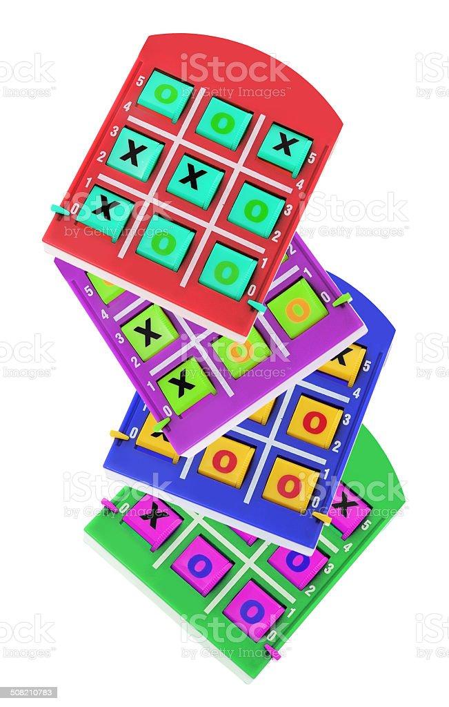 TicTac Toe Game stock photo