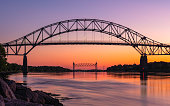 istock Tidal Change under the Borne Bridge at the Cape Cod Canal 1249841580
