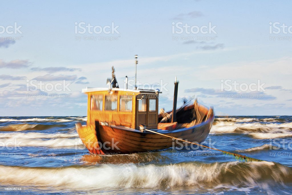 Tidal Motion stock photo