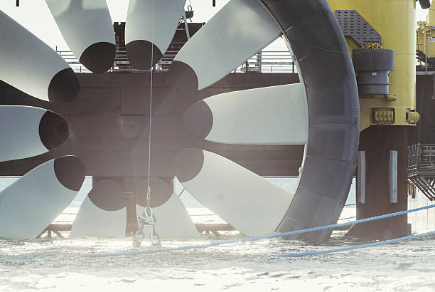 Tidal Power stock photo