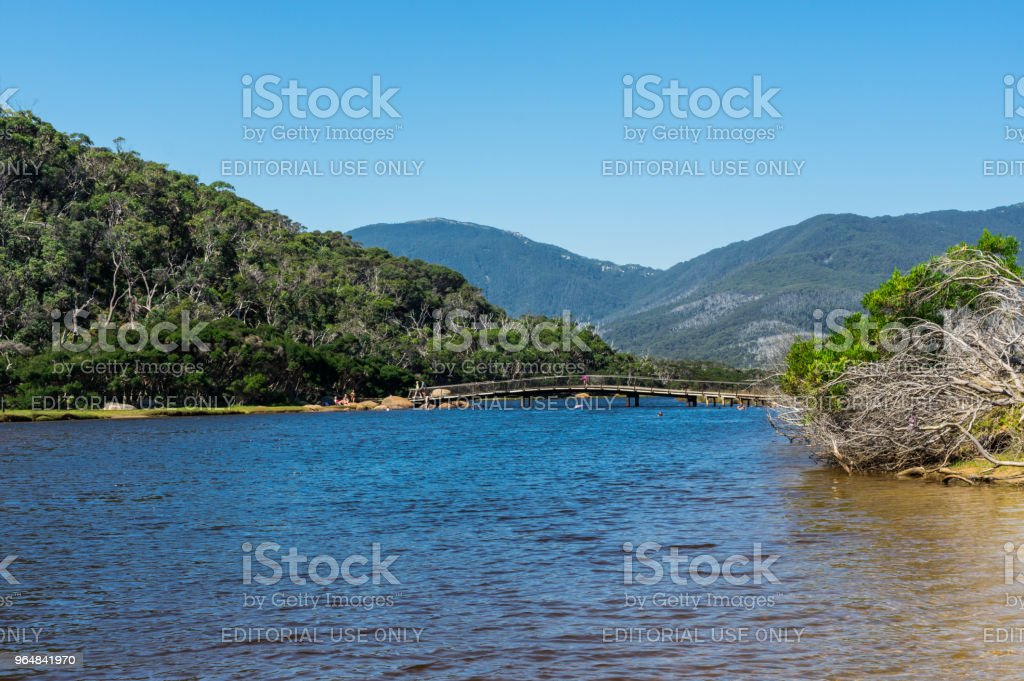 Tidal River in the southern section of Wilsons Promontory National Park in Gippsland, Australia. royalty-free stock photo